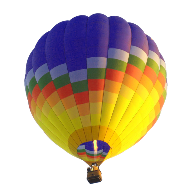 Hot air balloon png transparent background. Flying image