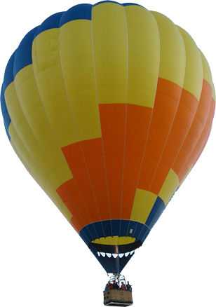 Hot air balloon png transparent background. Download free image with