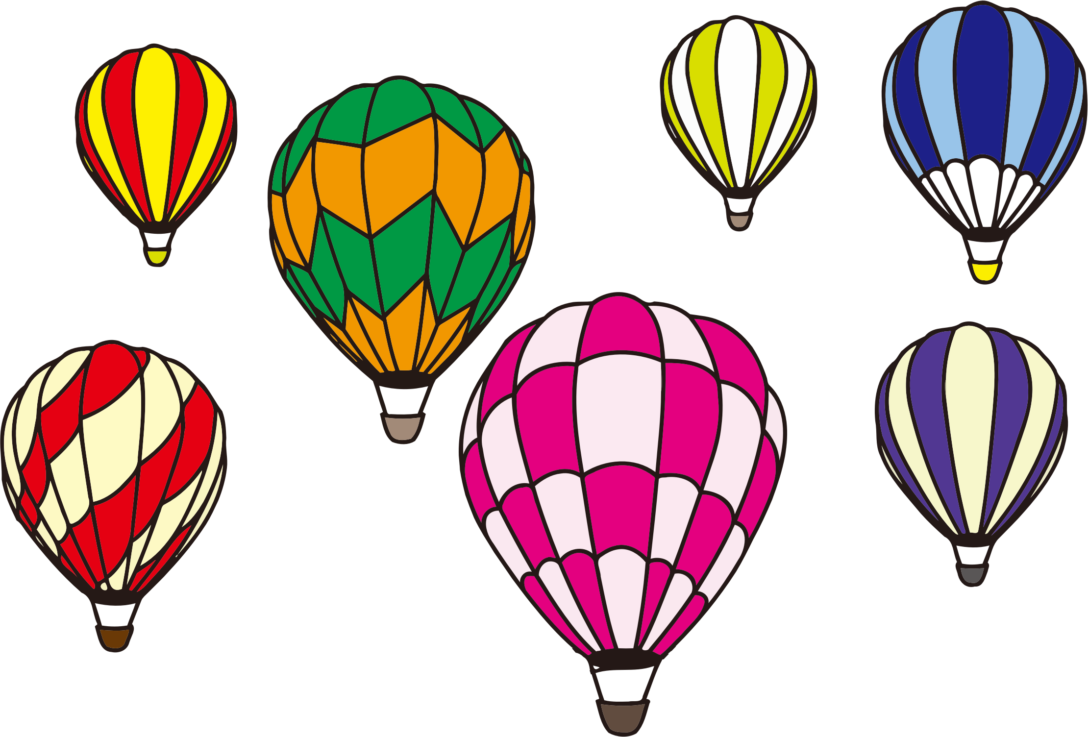 Hot air balloon png transparent background. Scene minus icons free