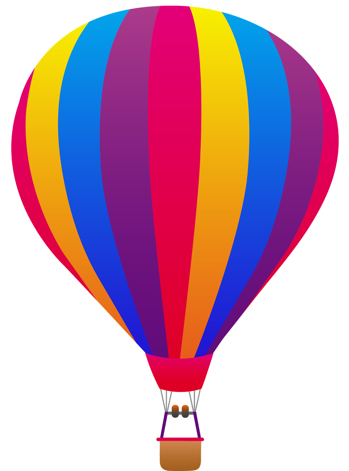 Hot air balloon vector png. That i based off