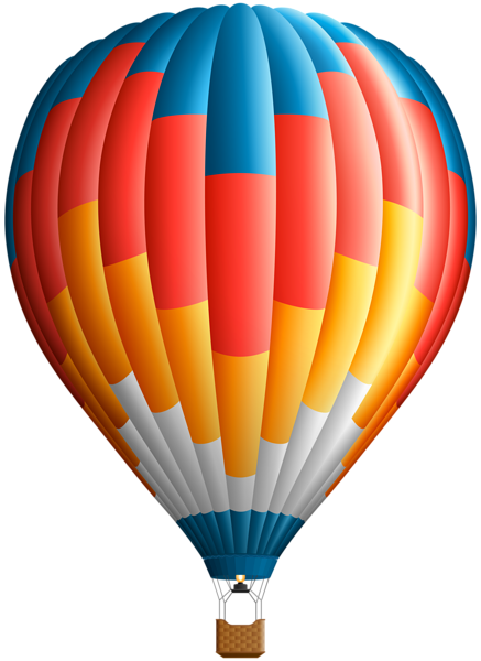 Hot air balloons png. Balloon clip art gallery