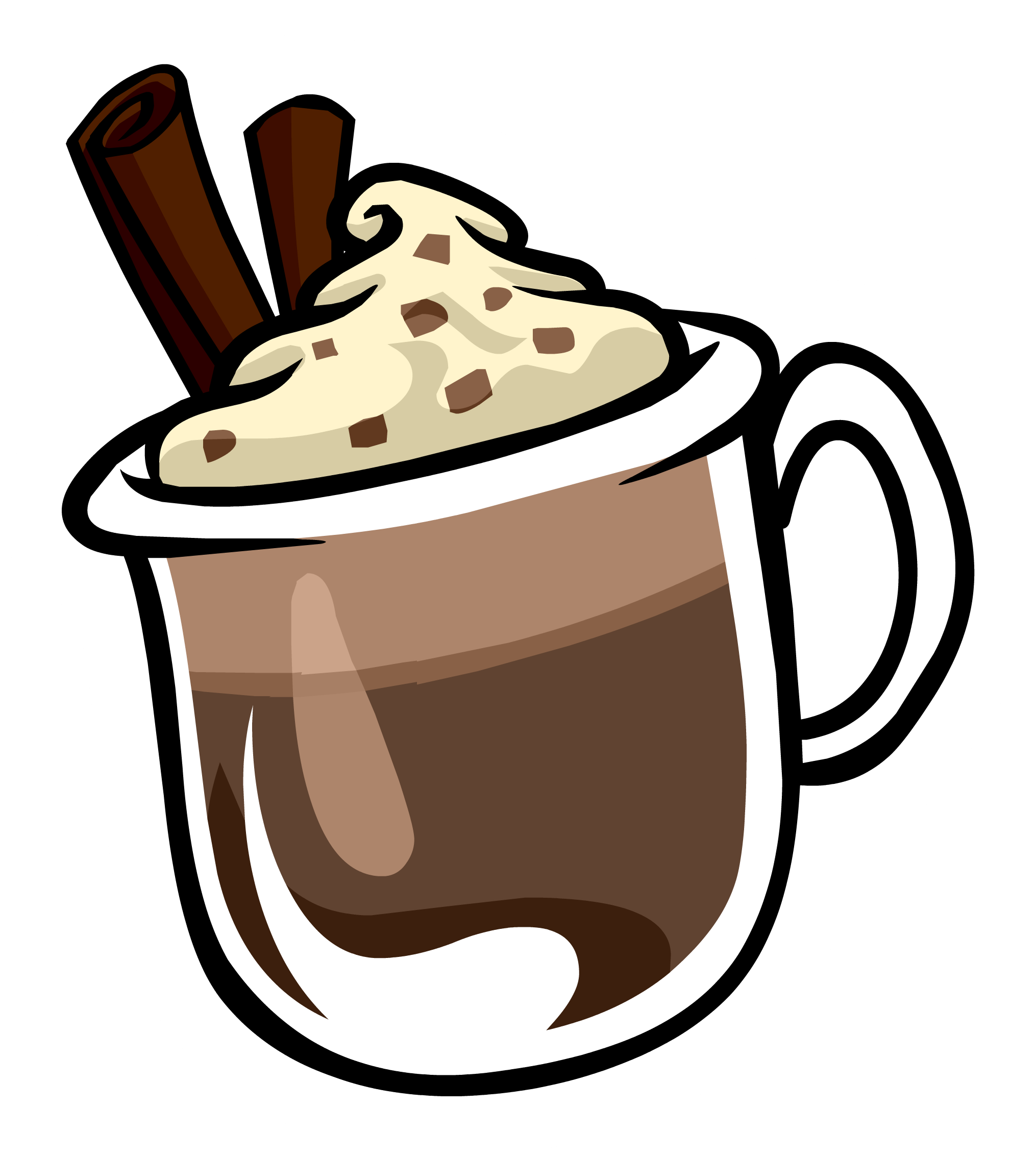 collection of clipart. Hot chocolate png vector black and white