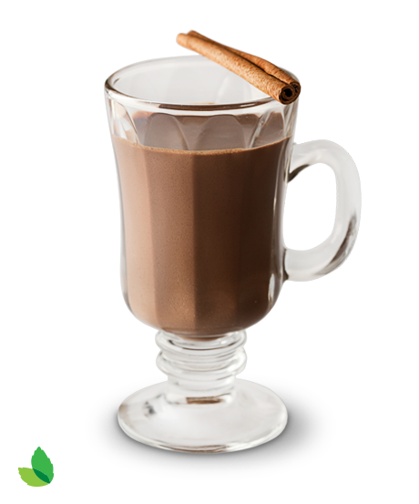 Hot chocolate png. Exotic recipe with truv