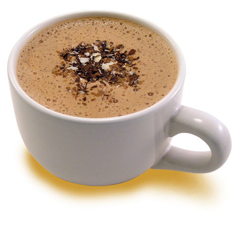 Hot chocolate png. Cocoa dolce artisan chocolates