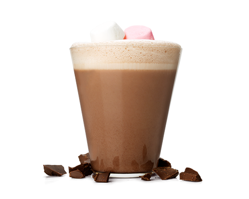 Hot coco png. Chocolate burger king