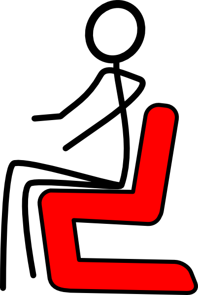 Hot clipart chair. Red clip art at