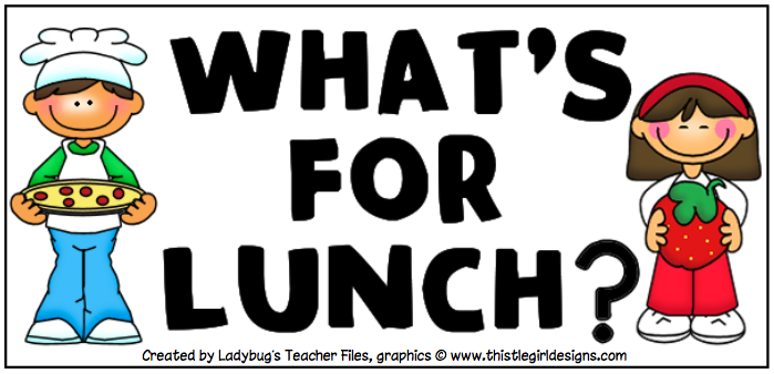 Hot clipart today. Reminder lunch order for