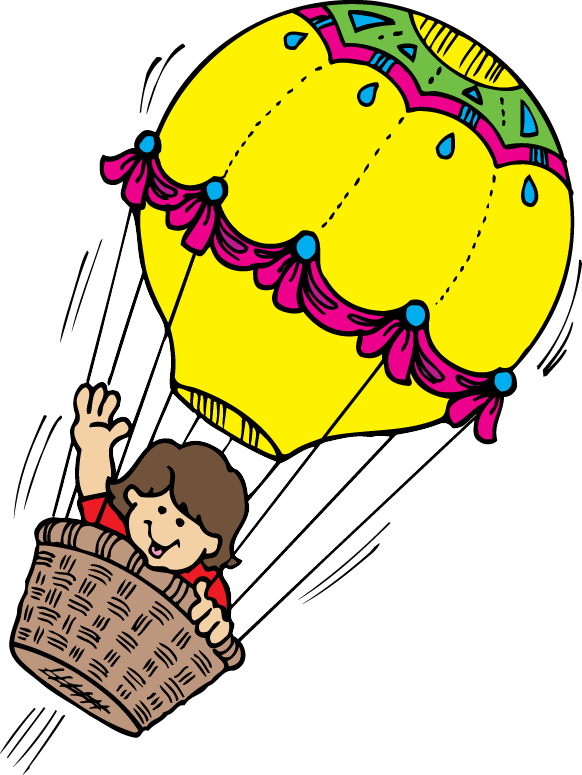 vintage hot balloon. Air clipart svg download