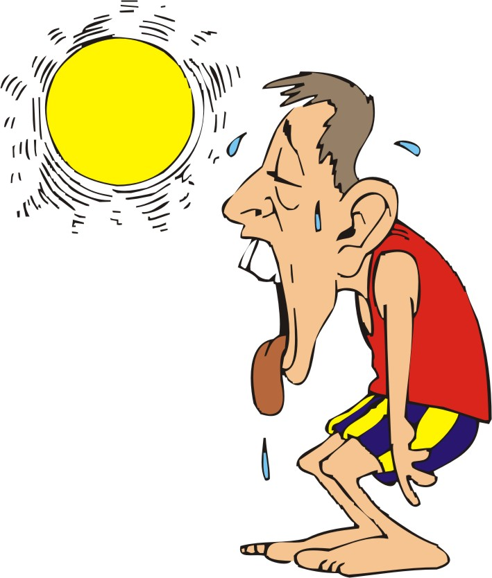 Hot clipart today. Free cartoon weather pictures