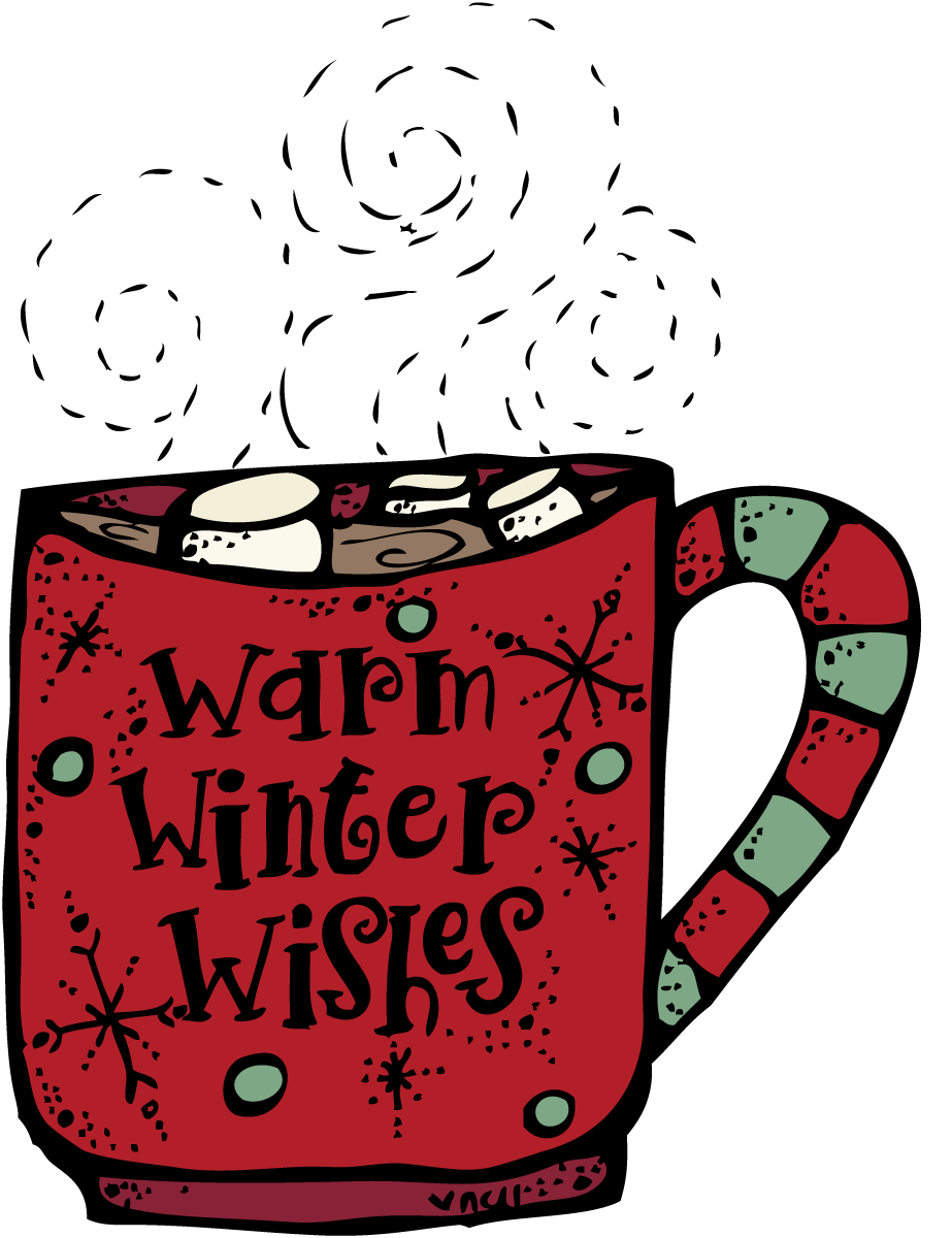 Coffee clip hot chocolate. Winter clipart