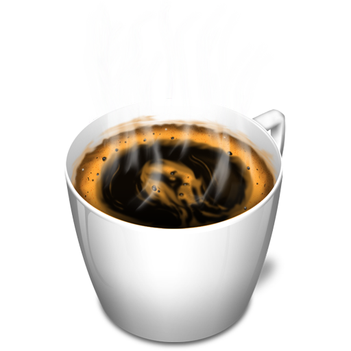 Hot coffee png. Cup icon kappu iconset