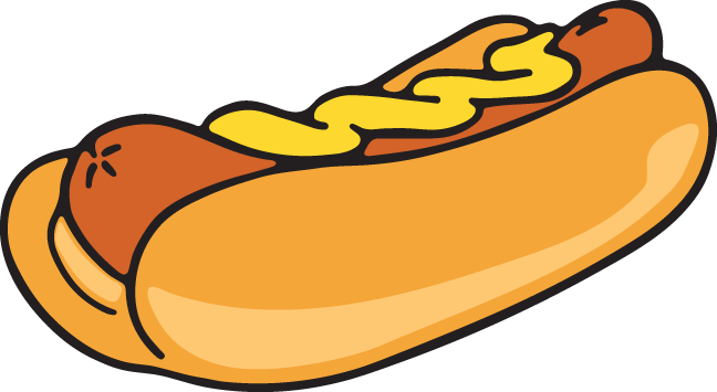 Hot dog vector png. Pinterest clipart images