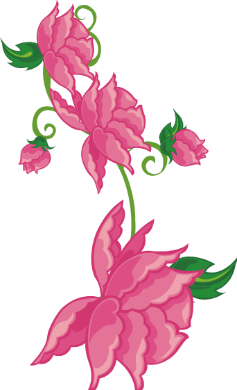 Hot pink flower png. By maxandpercy ever on