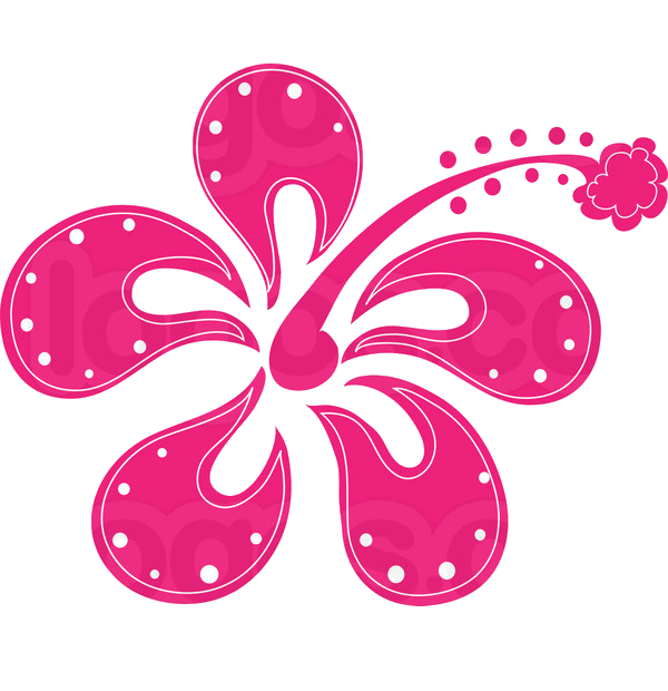 Hot pink flower png. By hanabell on deviantart