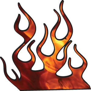 Hot rod flames png. Stencil racing flame clip