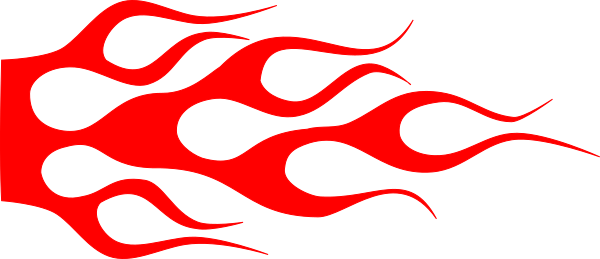 Hot rod flames png. Red racing flame clip