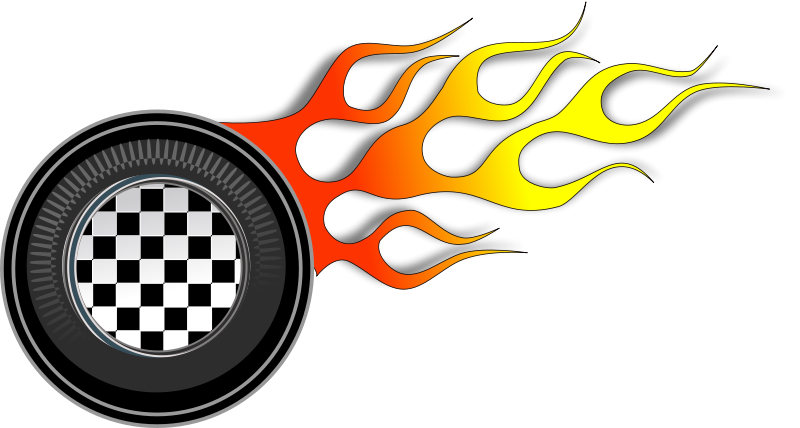 Hot rod flames png. Car image royalty free