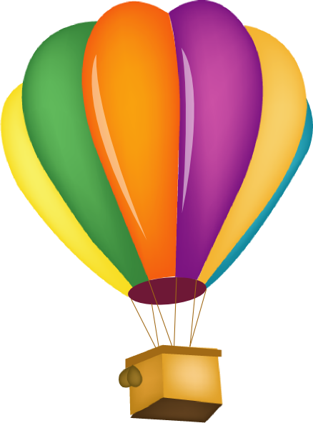 hot balloon vector. Air clipart vintage png royalty free library
