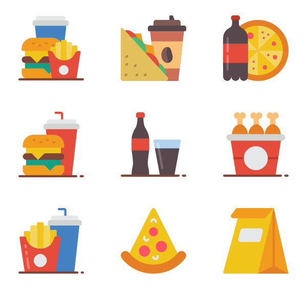 Hot vector. Dog icons free fast