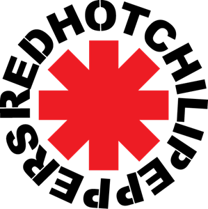 Hot vector symbol. Red chili peppers logo