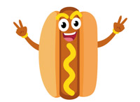 Hotdog clipart. Search results for hot