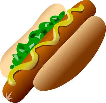Hotdog clipart chip. Home picture