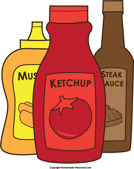 Ketchup clipart kind. Free mustard cliparts download