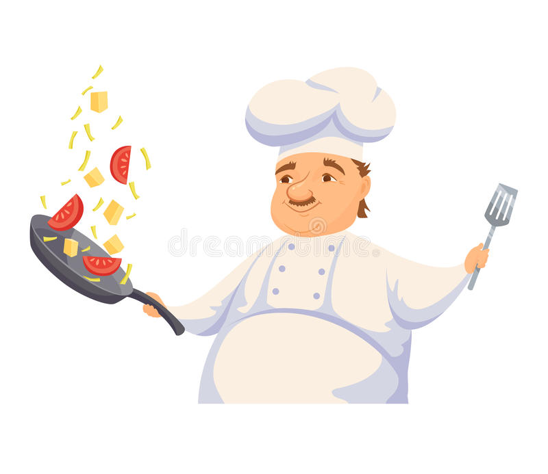 Catering clipart hotel cook. Chef cooking pasta stock clipart royalty free