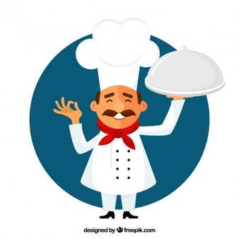 Chef vectors photos and. Catering clipart hotel cook png freeuse
