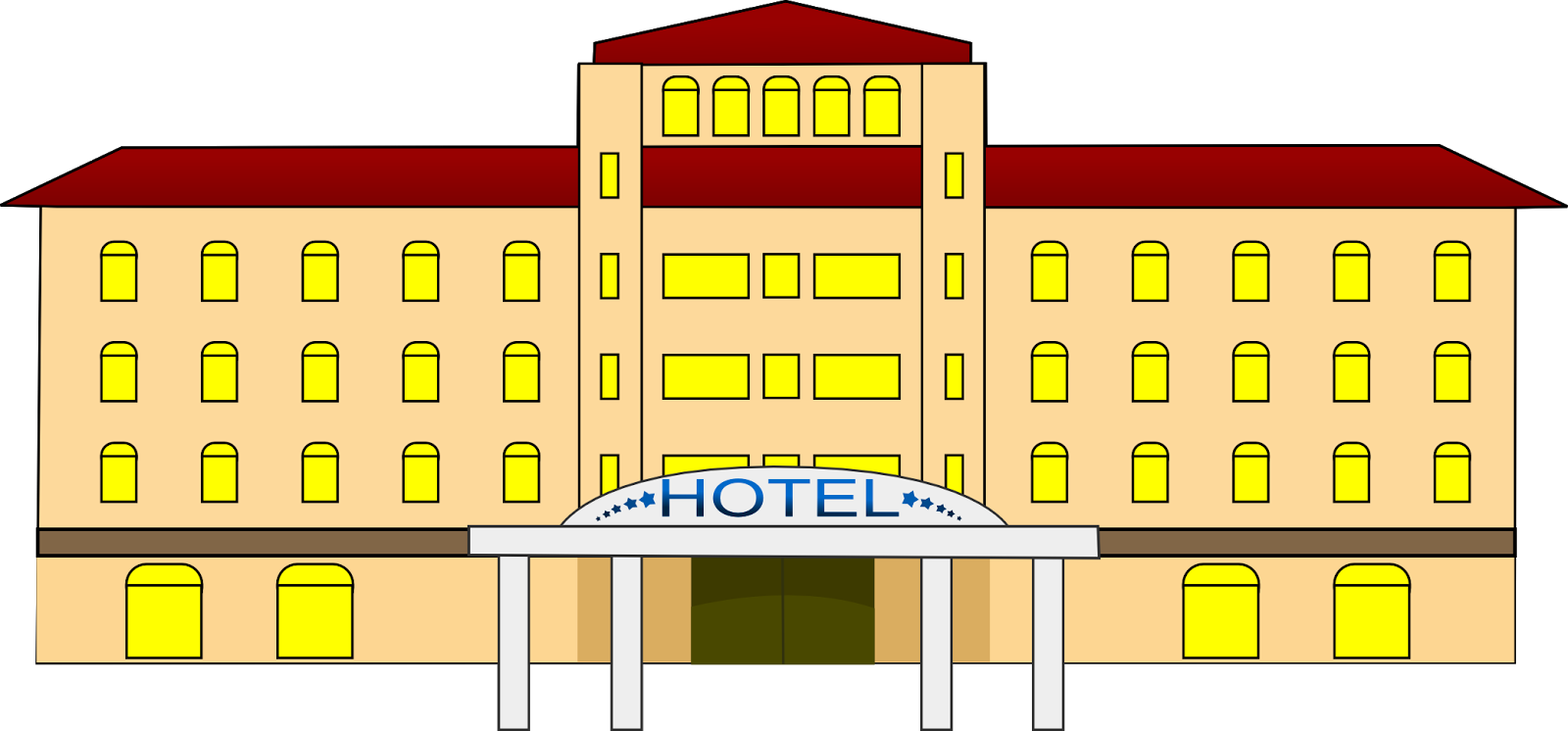 Hotel clipart hotel table. Esl and efl resources