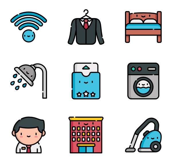 Hotel staff png. Icon packs vector