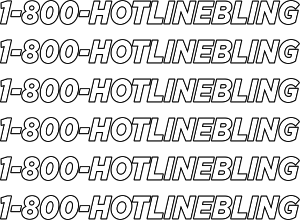Late night update required. 1800 hotline bling png clipart royalty free stock