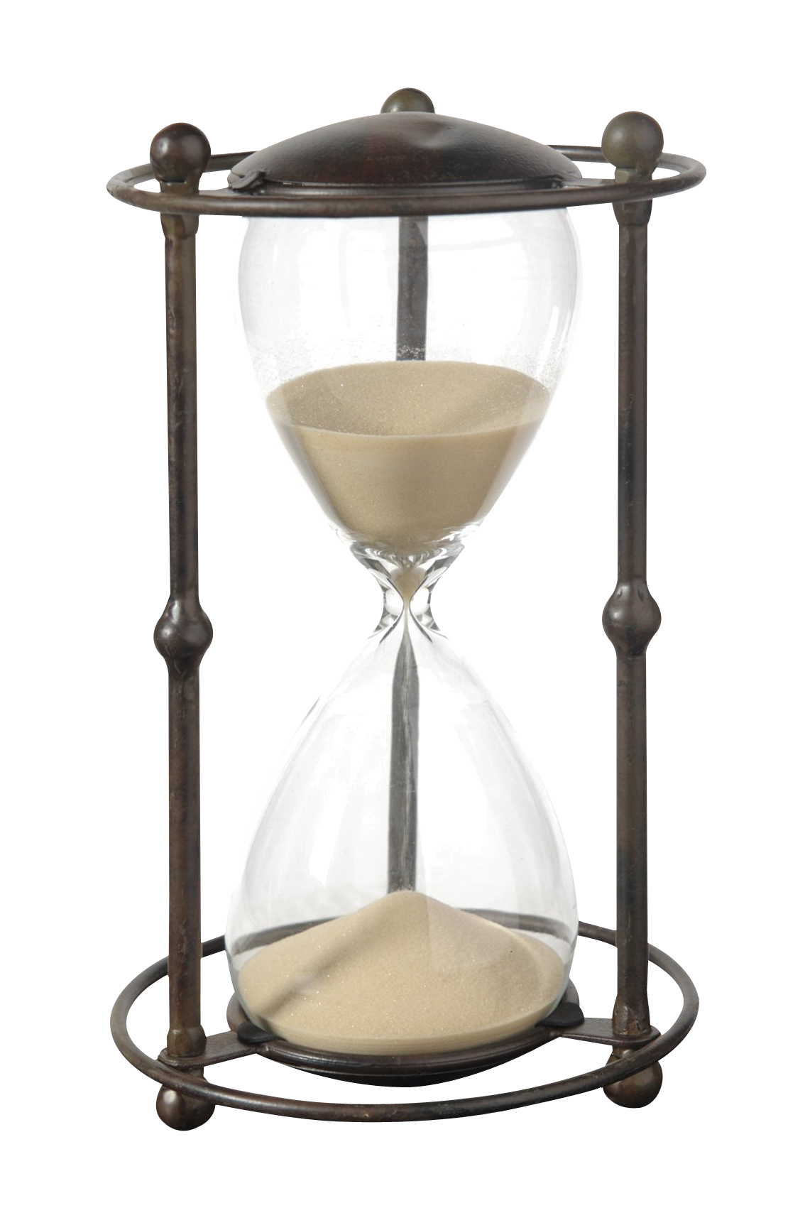 antique hourglass png