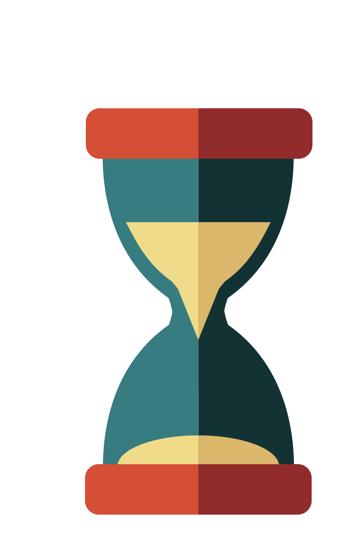 Hourglass clipart png. Flat clip arts for