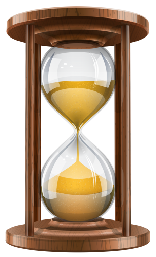 Hourglass clipart hour glass. Wooden sand clock png