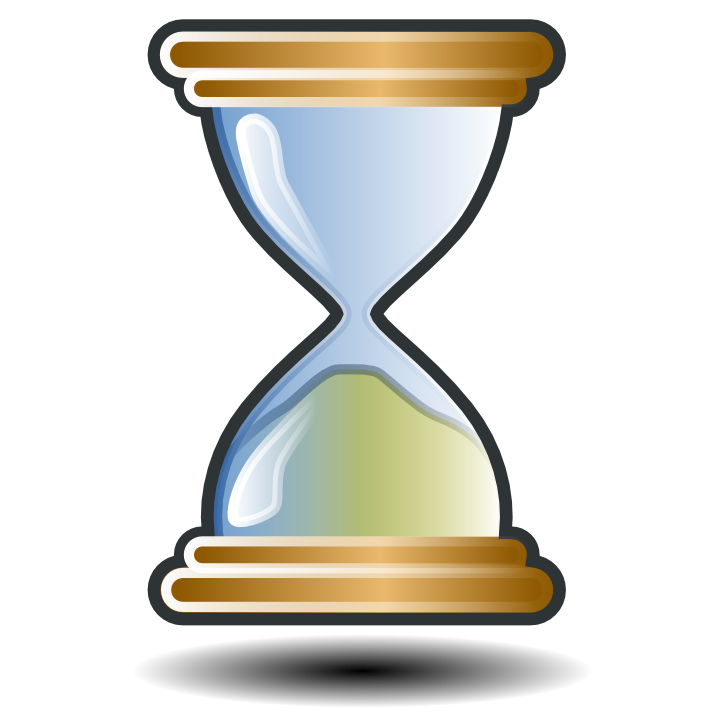 Hourglass clipart vector. Free animated gif download