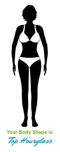 Hourglass clipart hourglass shape. Top body how to