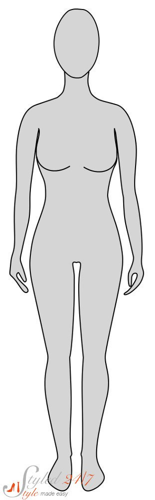 Hourglass clipart hourglass shape. Figure what to wear