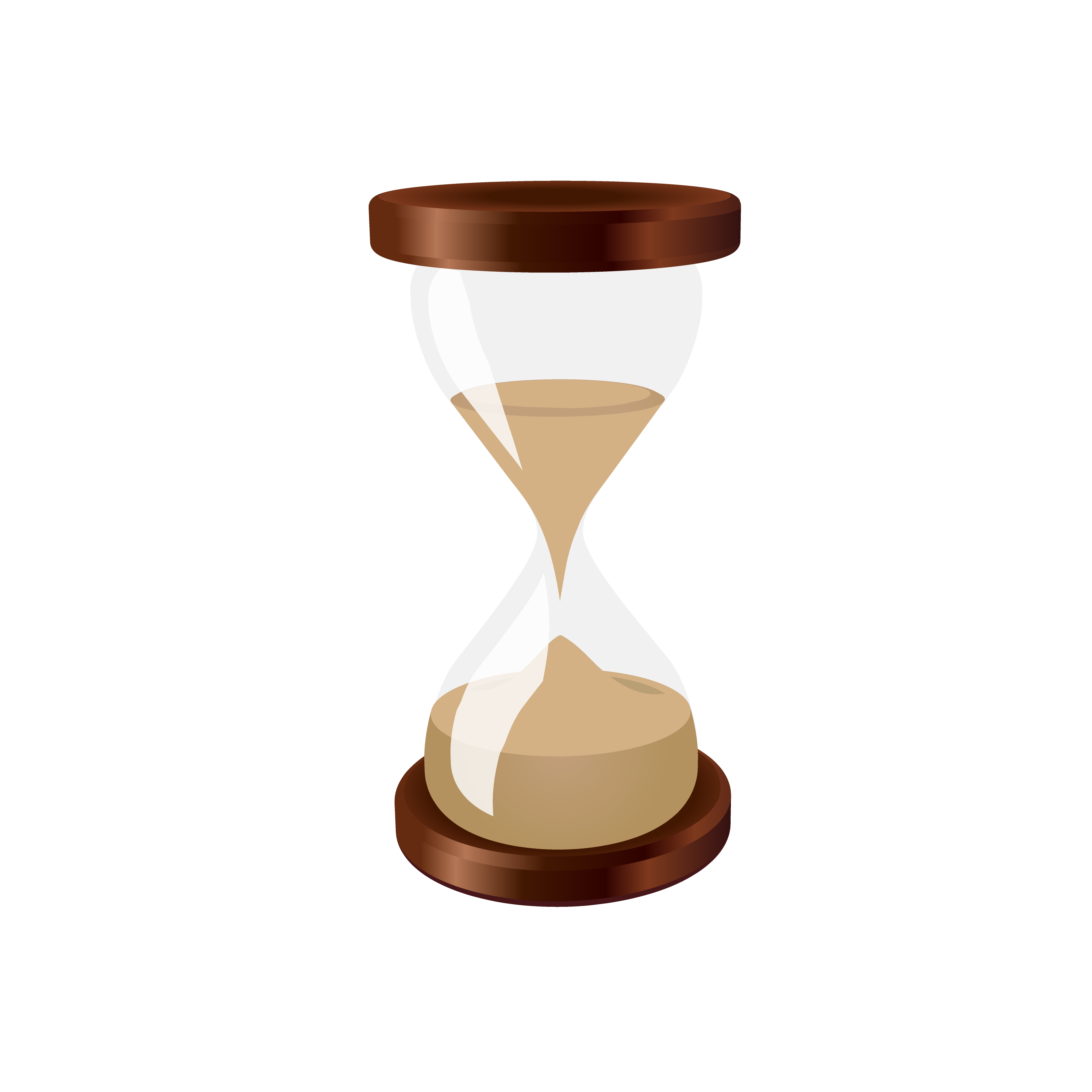 Hourglass clipart vector. Sand clock clip arts
