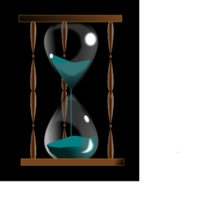 Hourglass clipart vector. Clip art at clker