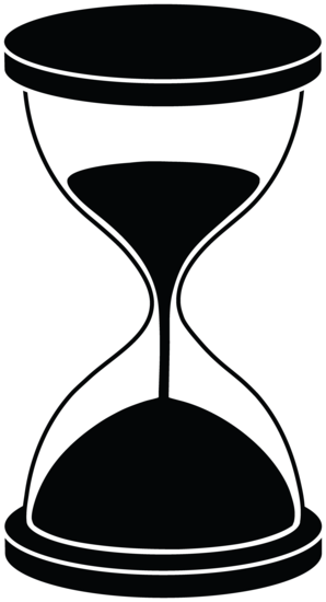 Hourglass vector png. Silhouette icons and inspiration
