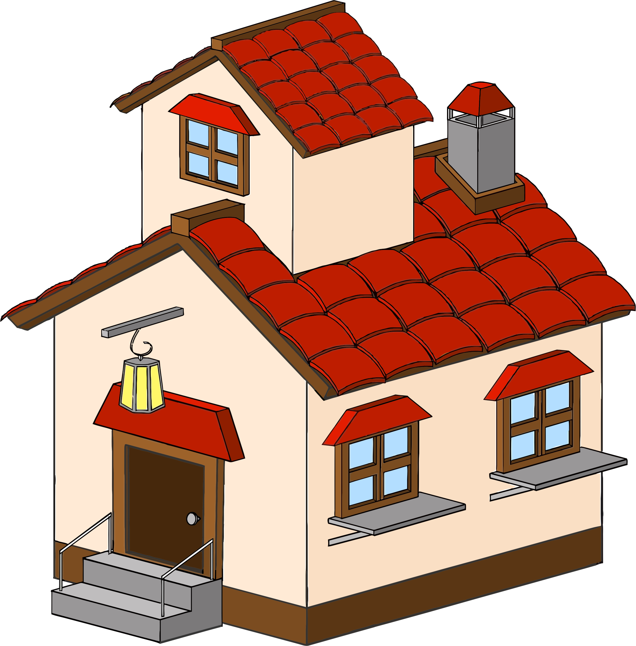 House clip art png. Cartoon haunted clipart picture