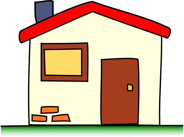 royalty free clipart house
