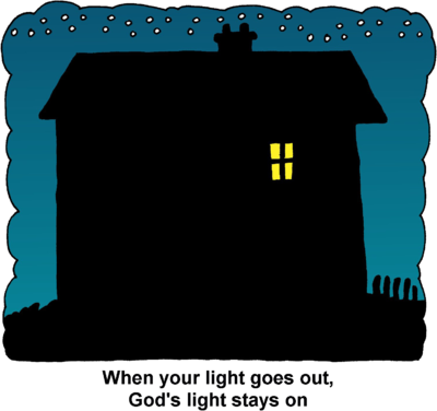 light clipart house