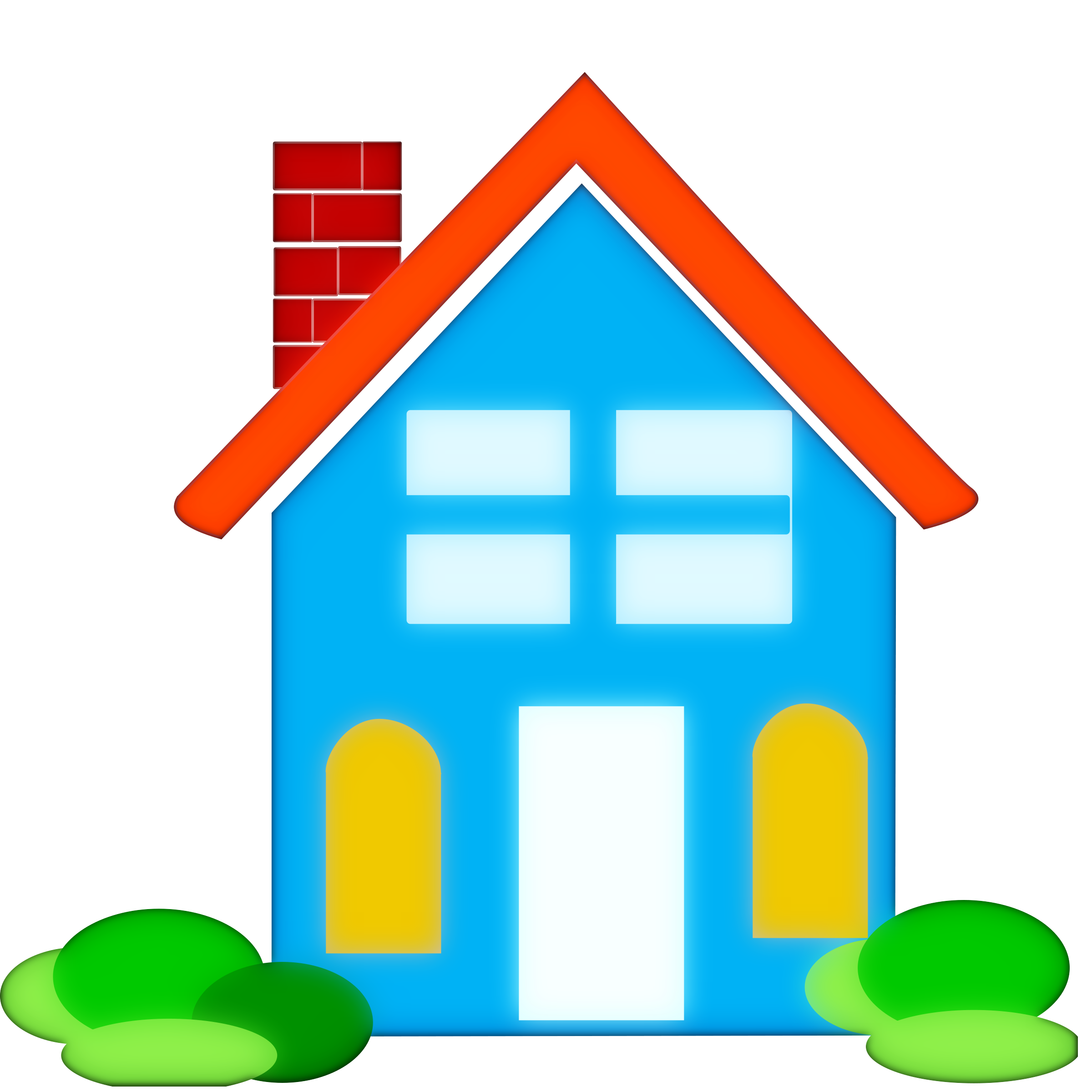 Homes vector. School house clipart free