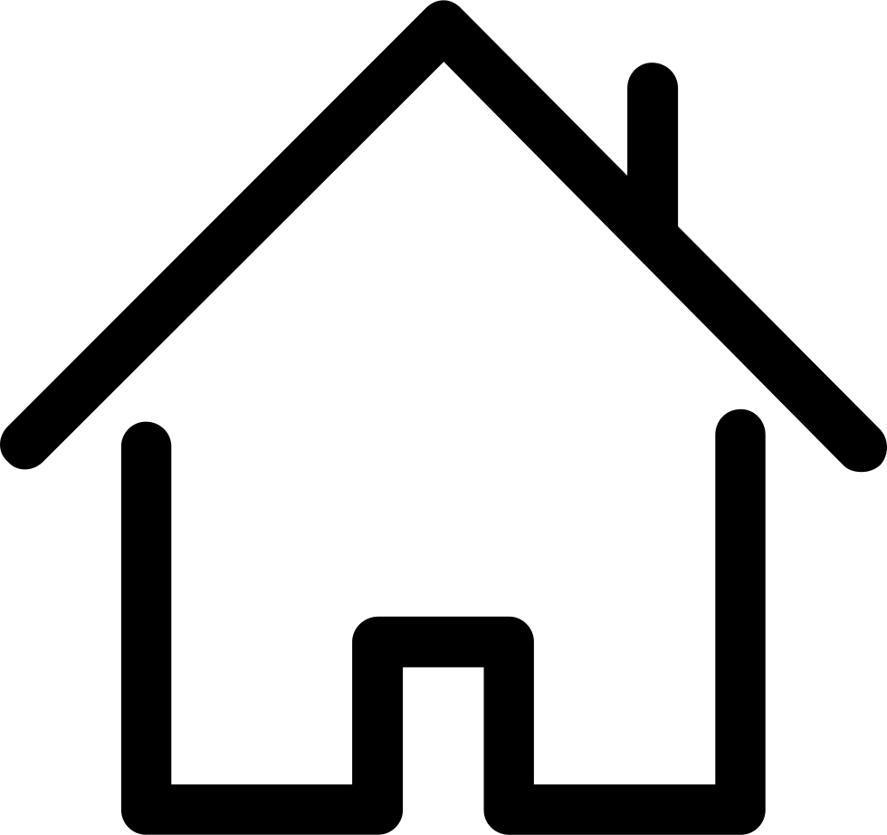 Homes vector outline. House svg png icon