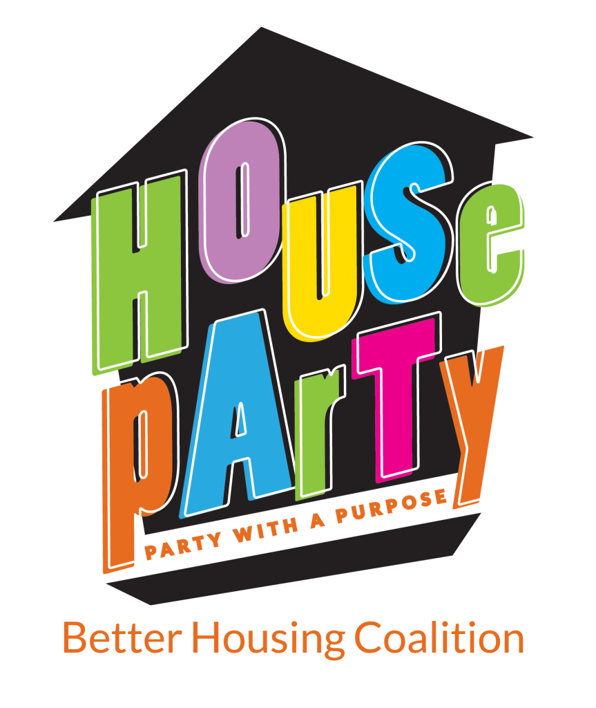 House party logo png. With a purpose better