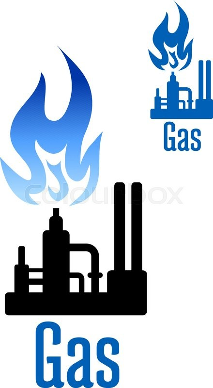 Household gas. Natural icon free icons