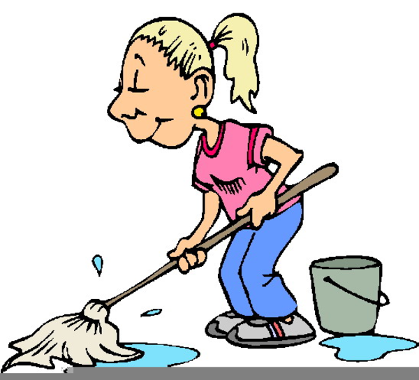 Housekeeping clipart animated. Free images at clker