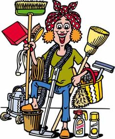 Cleaning clipart housekeeping tool. Business clip art free